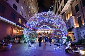 christmas lights downtown nola nola christmasfest