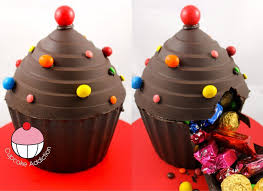 Easy Giant Cupcake Decorating Ideas Make A Giant Cupcake Pinata From Chocolate A Cupcake Addiction