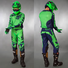 fox motocross gear combos fox motocross u0026 enduro mx combo fox 180 race green maciag offroad