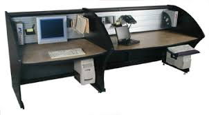 Computer Desk For 2 Two Computer Desk 72 Inch Wide Data Console Person Workstation
