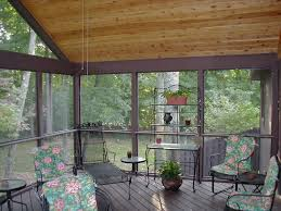 Decorating Screened Porch Glass Windows For Screened Porch Ideas