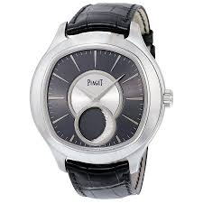 piaget emperador piaget emperador cushion shaped moon phase automatic 18kt white