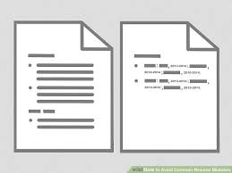 Resume Mistakes How To Avoid Common Resume Mistakes 12 Steps With Pictures