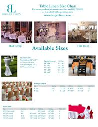 table linen rental bergen linen table linen rental size guide try it today