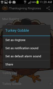 thanksgiving ringtones sounds for android free on