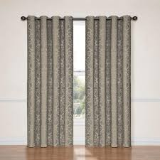 Sunbrella Outdoor Curtain Panels by Solaris Curtains U0026 Drapes Window Treatments The Home Depot
