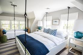 blue and white bedding houzz