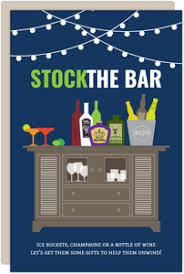 stock the bar invitations housewarming invitations