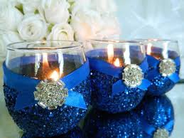 best 25 royal blue centerpieces ideas on blue wedding