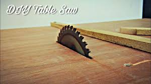 Table Saw Blade For Laminate Flooring How To Make A Homemade Table Saw Diy Table Saw Youtube