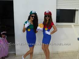 Mario Luigi Halloween Costume Diy Costume Lovers Luigi Costume Luigi Mario