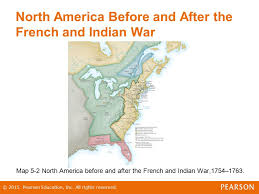 america map before and after and indian war the of a revolution ppt