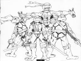 teenage mutant ninja turtles coloring pages printable printable