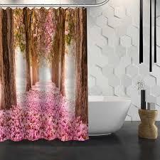 Waterproof Fabric Shower Curtains Online Get Cheap Multi Stripe Shower Curtain Aliexpress Com