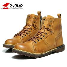 quality s boots z suo s boots high quality leather fashion tooling boots