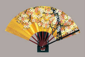 japanese fan golden japanese fan hana guruma m size buy japanese fan fan