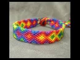 friendship bracelet rainbow images Friendship bracelet tutorial beginner rainbow arrowhead jpg