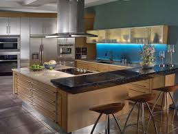 Urban Kitchen Modern Urban Kitchen With Olive Brown Painted Wood Finishing