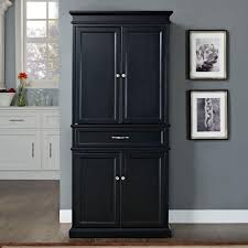 black kitchen pantry cabinet home furniture design kitchen