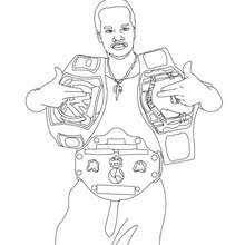 wrestler rey mysterio coloring pages hellokids com