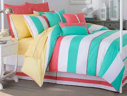 Queen Comforter Sets Amazon Com Southern Tide Cabana Stripe Queen Comforter Set Home