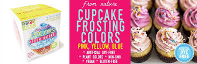 amazon com colorkitchen cupcake coloring set pink yellow and