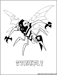 9 images of ben 10 shocksquatch coloring pages ben 10 coloring