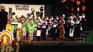 2nd thanksgiving 2nd grade thanksgiving music program youtube