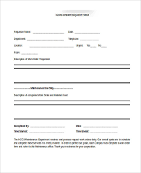 Maintenance Request Form Template by Sle Cake Order Form Template Cake Bakery Disclaimer Forms 23
