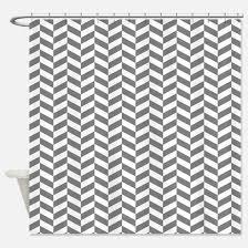 Grey Herringbone Curtains Grey Herringbone Shower Curtains Cafepress