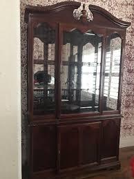 cherry wood china cabinet cherry wood china cabinet furniture in san jose ca