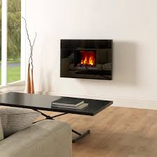 elegant tahoe open fronted black opti myst electric fire quality