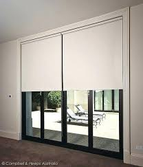 curtains or blinds for sliding glass doors roller blinds on sliding doors vertical blinds sliding glass patio