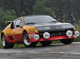 renault alpine a110 rally renault alpine a310 v6 homologation version rally group b shrine