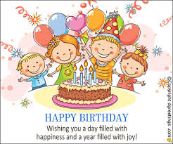happy birthday wishing you a day filled with happiness animated