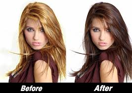 best wash out hair color temporary spray in hair color brown