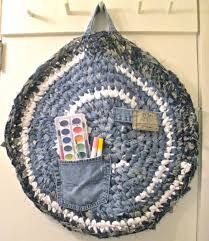 Denim Rag Rugs 10 Ideas For Upcycling Denim With Crochet U2013 Crochet Concupiscence