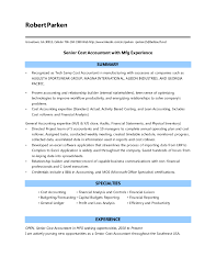 resume objective exles for accounting manager resume cost accountant resume sle shalomhouse us