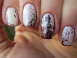 this is halloween nail art challenge ghosts misshollyberries