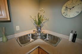 Square Kitchen Sinks by Benefits Of Corner Kitchen Sinks And The Designs Available In