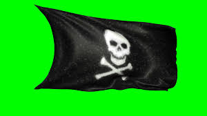 Pirate Flags For Sale Animated Black Pirate Flag With Skull And Crossbones Waving In The