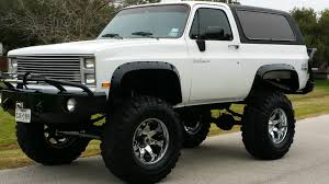 opel blazer chevy k5 monster blazer high end lift and extras bargain priced