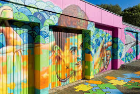How To Make Mural Art At Home by Addingcolortolives Designing A Huge Mural In Cologne Park Inn