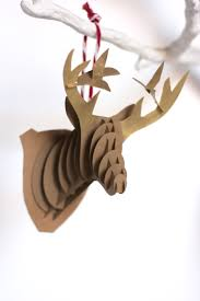 diy paper reindeer ornaments reindeer ornaments and ornament