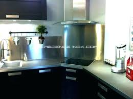 cr ence en miroir pour cuisine credence inox adhesive credence miroir cuisine dosser en pour