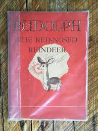 1st printing rudolph red nosed reindeer