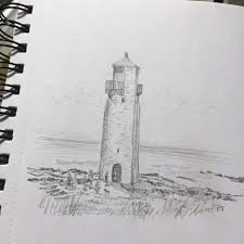 edinburgh sketcher southerness lighthouse on the solway firth