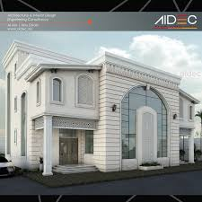 proposed residential villa modern classic design