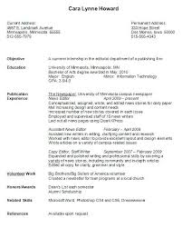 sample resume for university students freshman college resume free