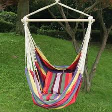 adeco hammock chair with pillows free shipping today overstock